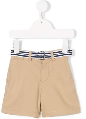 Ralph Lauren striped belted shorts