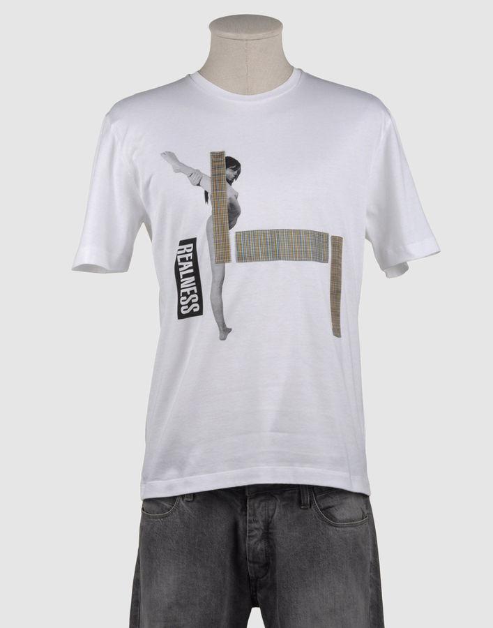Raf Simons Short sleeve t-shirts
