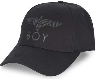 Boy London Flash logo cotton snapback cap