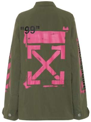 Off-White Printed cotton jacket