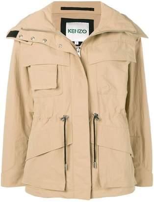 Kenzo zipped drawstring jacket