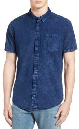 RVCA Acid Rain Denim Shirt