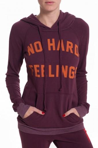 291 VENICE No Hard Feelings Sweatshirt - Port