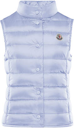 Moncler Quilted Snap-Front Vest, Size 8-14