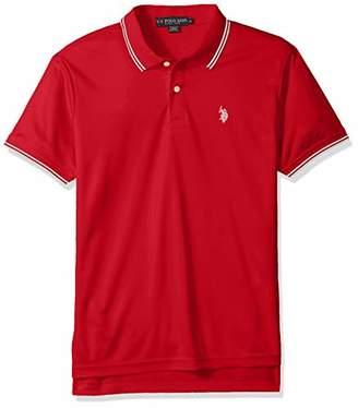 U.S. Polo Assn. Men's Short Sleeve Classic Fit Solid Interlock Polo Shirt