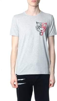 Philipp Plein Basic Tiger Grey T-shirt
