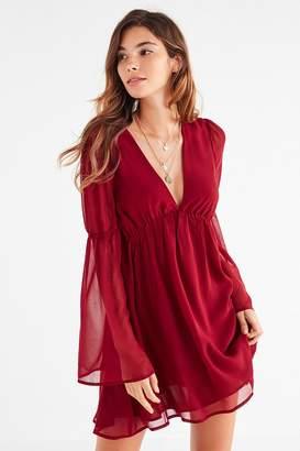 Lucca Couture Empire Waist Bell-Sleeve Dress