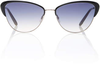 Garrett Leight Vista 56 Cat-Eye Sunglasses