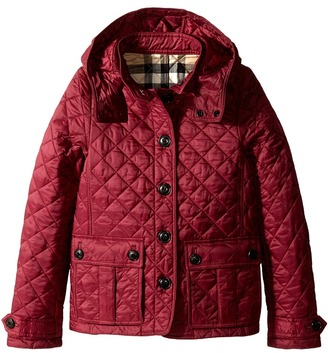 Burberry Kids - Tiggsmoore Jacket Girl's Coat $295 thestylecure.com