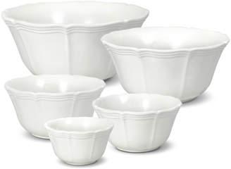 Mikasa Set of 5 Stackable Bowls
