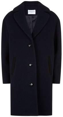 Claudie Pierlot Bouclé Wool Coat