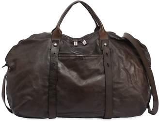 Numero 10 Okinawa Leather Weekender Bag