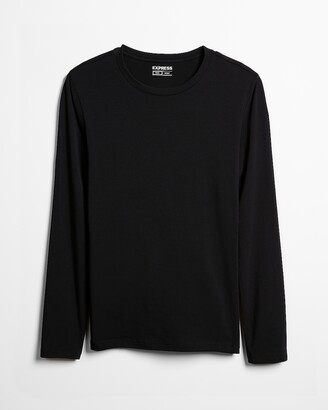 Express Supersoft Long Sleeve Crew Neck Tee
