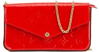 Louis Vuitton Cerise Monogram Vernis Pochette Felicie (4027002)