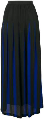 Pierantonio Gaspari Pierantoniogaspari two-tone pleated skirt