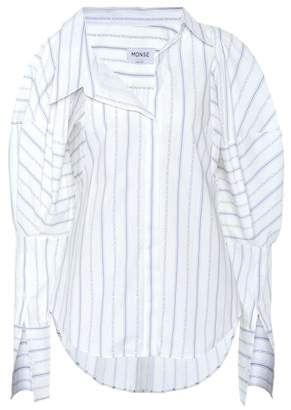 Monse Striped poplin shirt