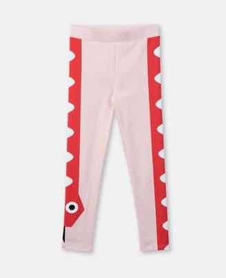 Stella McCartney snake leggings