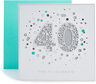Marks and Spencer 40th Birthday Card