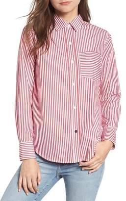 Current/Elliott The Derby Stripe Shirt