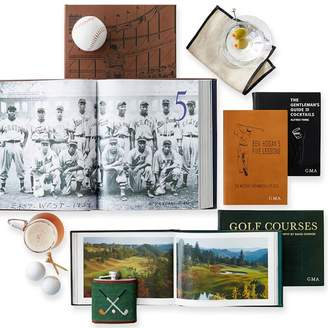 """Mark And Graham Leather-Bound """"Ben Hogan's 5 Golf Lessons"""" Book"""