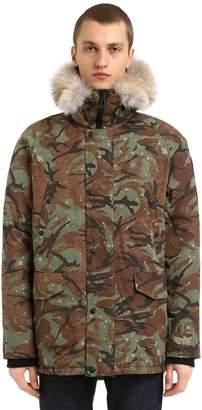 Belstaff Meadwell Nylon Parka Down Jacket