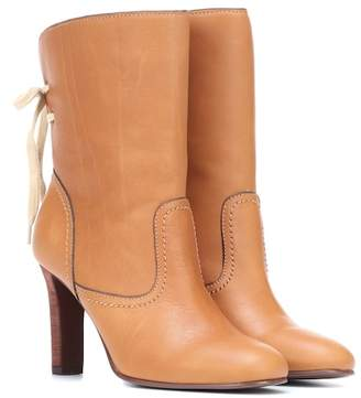 See by Chloe Lara leather ankle boots