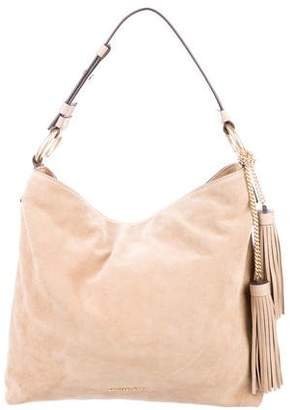 MICHAEL Michael Kors Suede Elyse Shoulder Bag