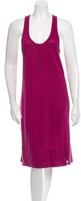 Sonia Rykiel Linen Sleeveless Racerback Dress w/ Tags