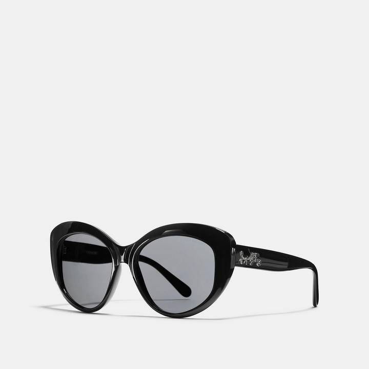 Coach  COACH Coach Horse And Carriage Butterfly Sunglasses