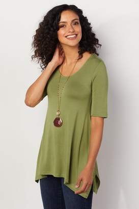 Soft Surroundings Timely Top