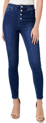 Forever New Heidi High Rise Ankle Grazer Jeans