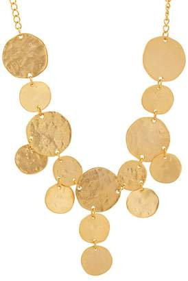 Kenneth Jay Lane WOMEN'S YELLOW-GOLD-PLATED COIN BIB NECKLACE