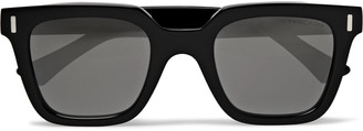 Cutler And Gross Cutler and Gross - Square-Frame Acetate Sunglasses - Men - Black