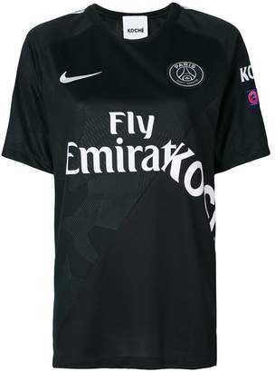 Paris Saint-Germain x Koché asymmetric T-shirt