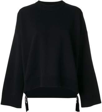 Paco Rabanne oversized zip jumper