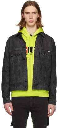 Diesel Black Denim Bray Jacket