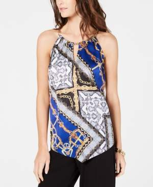 INC International Concepts I.n.c. Chain Halter Top, Created for Macy's