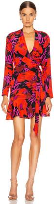 Veronica Beard Lorina Dress in Poppy Multi | FWRD