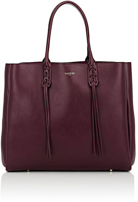 Lanvin Women's Tassel-Handle Extra-Large Shopper $1,745 thestylecure.com