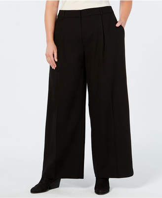 Eileen Fisher Tencel® Plus Size Wide-Leg Pants