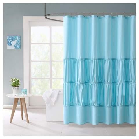 Haley Tuft Shower Curtain