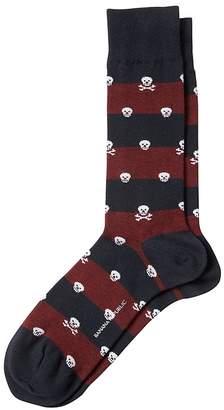 Banana Republic Stripe Skull Sock