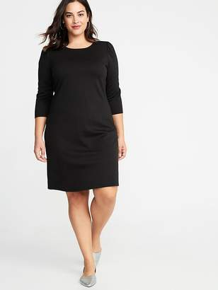 Old Navy Plus-Size Ponte Knit Shift Dress