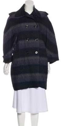 Burberry Knee-Length Cocoon Coat