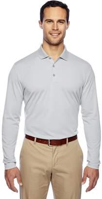 adidas Men's Polyester Long Sleeve Polo Shirt