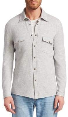 Brunello Cucinelli Western Shirt Cardigan