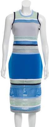 Jonathan Simkhai Sleeveless Contrasted Dress