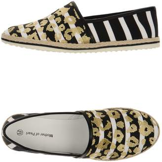 Mother of Pearl Espadrilles