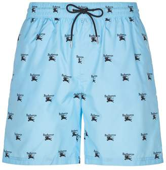 Burberry Archive Logo Swim Shorts