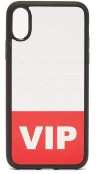 Maison Margiela - Vip Printed Iphone® X Phone Case - Womens - Red White